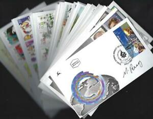 Israel Judaica 2000's Extensive FDC Collection - autographed by stamp designers