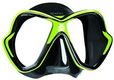 Tauchen Mares X-vision Lime Black Silicone