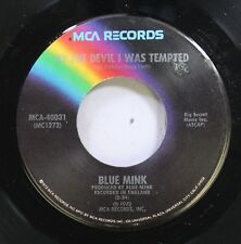 Rock Nm! 45 Blue Mink - By The Devil I Was Tempted / I Can'T Find The Answer On