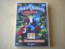 Power rangers SPD 6 Il samurai DVD azione 3 episodi lingua italiano inglese