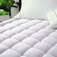 Allman Quilted Mattress Pad Waterproof Protection