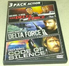 Delta Force/Delta Force 2/Code of Silence (DVD Chuck Norris