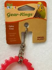 Penn-Plax Bird Life Gear Rings Not for Parrots or Other Aggressive Chewing Birds