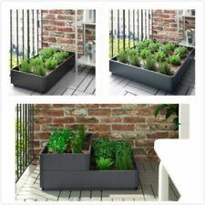outdoors, grey 75x74x15 cm Ikea salladskal planting tray, for