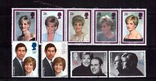 GREAT BRITAIN 1980-90s royalty sets used