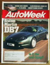 AUTOWEEK 1994 NOV 14 - OLDS AURORA, ASTON MARTINS