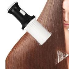 Salon Barber Hair Cutting Synthetic Hair Neck Duster Brush Talcum Powder HolderA