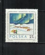 POLONIA . Año: 1982. Tema: EXPEDICIONES POLARES.