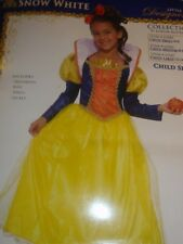 SNOW WHITE Deluxe Costume Girls S 4-6 ~3pc Princess Dress-Forum-NEW