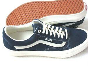 Vans Men's Old Skool Pro Wrapped Navy Blue Marshmallow Skate Shoes Size 11.5 NIB