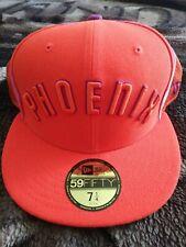 Phoenix Sons Cap New Era HWC Nights Home Uniform Orange Hat Adults 7 1/4 New USA