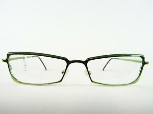 Augentraum Vert Monture Métallique Lunettes de Dames Carré Frappant Stable Gr. M