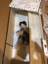 "Rare Maryse Nicole Doll 8"" Porcelain Boy Todd 7/50 Studio Ed. With Boat COA New"