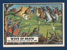 WAVE OF DEATH 1962 CIVIL WAR NEWS NO 22 EXMINT+