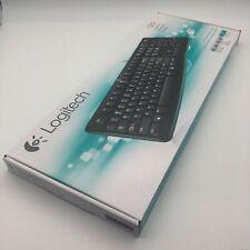 BRAND NEW Logitech K120 Ergonomic Desktop Spill Resistant USB Keyboard in Black