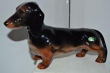 Vintage Dauchsand Wiener Dog Beswick Bone China Large