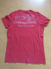 Tee-shirt ABERCROMBIE & FITCH rose taille S à manches courtes