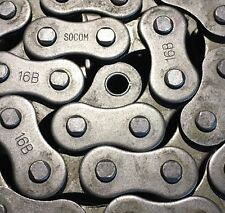 INDUSTRIAL ROLLER CHAIN both 1 and 2 R variations 06B to 80