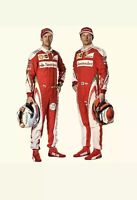 F1 Michael Schumacher 2001 printed Race suit,In All Sizes