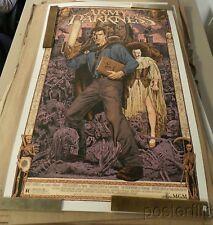Army of Darkness Purple Variant Screenprint Poster xx/60 Chris Weston Skuzzles