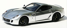 1/18 Hot Wheels Elite Race Ferrari 599 GTB Fiorano Silver