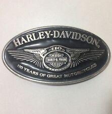 Harley Davidson 110TH ANNIVERSARY BELT BUCKLE
