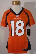 NWT Nike Peyton Manning Denver Broncos  18 Womens Home Jersey S Orange  MSRP 100 e43774887