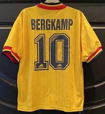 Arsenal Jersey #10 Dennis Bergkamp 100% Authentic Netherlands Vintage 93 Messi