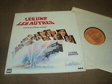 """@ BOF LES UNS ET LES AUTRES COFFRET TRIPLE 33 TOURS LP 12"""" FRANCIS LAI M LEGRAND"""