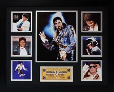 Michael Jackson Limited Edition Framed Signed Memorabilia