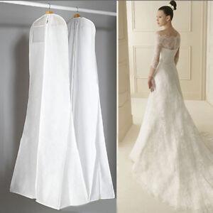 Large Bridal Gown Wedding Dress Garment Dustproof Breathable Cover Storage Bag