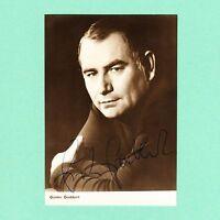 Ansichtskarte Autogramm Günter Grabbert signiert Progress Starfoto Echt Foto