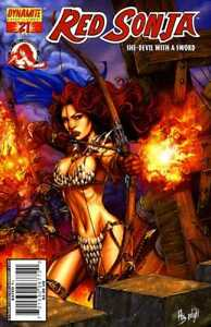 RED SONJA (2005) #21 Cover D  Back Issue