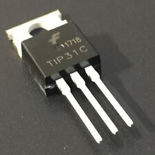 10PCS TIP31C 3A NPN Complementary Power Transistors TO-220 USA Fast Shipping