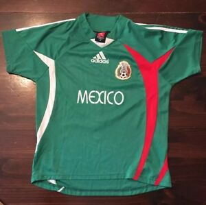 ADIDAS  R. Marquez MEXICO SOCCER JERSEY Futbol size 16 Athletic Sports