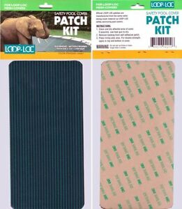 Loop-Loc Patch Kit For Green Mesh & Ultra-Loc Safety Covers (3 Pack Of Patches)
