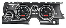 DAKOTA DIGITAL 63 64 65 Buick Riviera Analog Dash Gauges Black Red VHX-63B-RIV