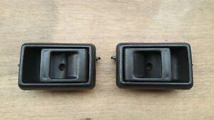 FIT FOR TOYOTA PICKUP COROLLA 4RUNNER INTERIOR INNER DOOR HANDLE BLACK TO1352111