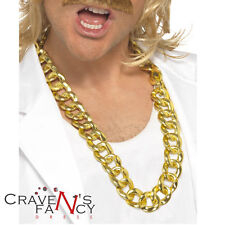 Trama grossa oro collana catena gangster LIMONE l'onorevole T RAPPER Bling BA FANCY DRESS U