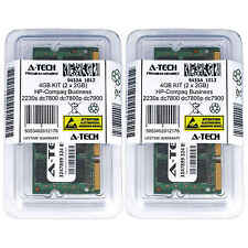 4GB KIT 2 x 2GB HP Compaq Business 2230s dc7800 dc7800p dc7900 Ram Memory