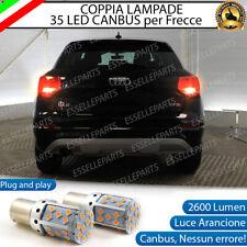 COPPIA LAMPADE PY21W BAU15S CANBUS 35 LED AUDI Q2 FRECCE POSTERIORI NO ERROR