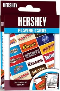 Hershey set of 52 playing cards + Jokers (mpc)