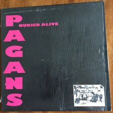 Pagans  -  Buried Alive (Treehouse TR002)  LP