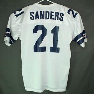 Vintage Champion USA Dallas Cowboys Deion Sanders NFL Jersey USA Sz 48 MINT