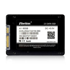 "High Speed 514 MB/S 2.5""SATA 60GB Zheino MLC SATA III SSD Solid State Drive"
