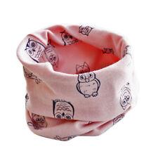 Kids Scarf Star Animal Print Warm Scarves Boys Girls Neck Collar O Ring Scarf