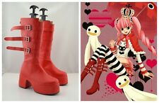 One Piece Perona Cosplay Costume Boots Boot Shoes Shoe