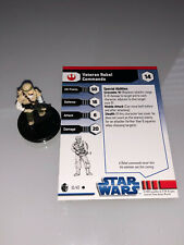 Star Wars Miniatures Imperial Entanglements Veteran Rebel Commando #10