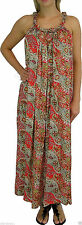 Paisley Machine Washable Casual Maxi Dresses for Women