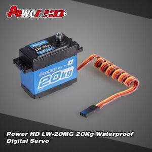 Power HD LW-20MG 20Kg RC Car High Torque Digital Servo W/ Metal Gear for RC Car